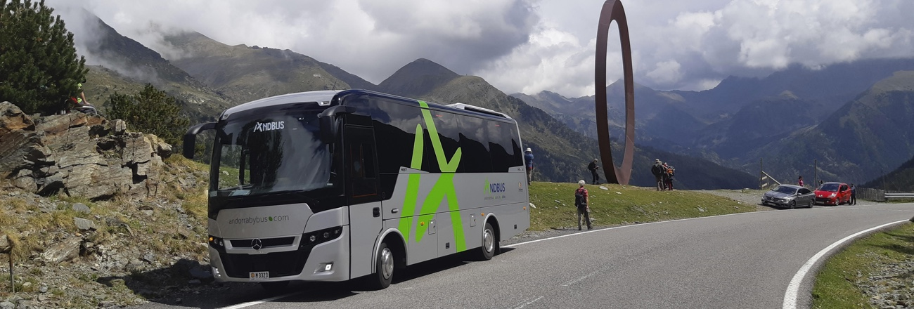 Buses between Barcelona and Andorra and more destinations